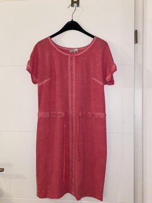 Sehr schönes Jersey Kleid in Rosa