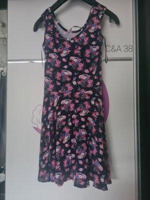 C&A Vestido de manga corta violeta