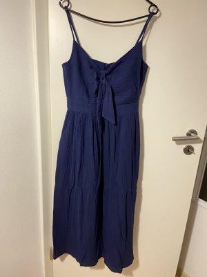Telly Welly Vestido de lana azul oscuro