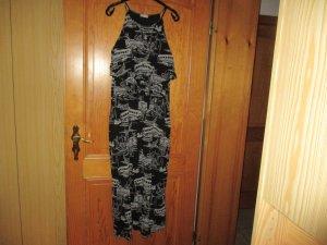 Yessica Robe d'été noir-blanc coton
