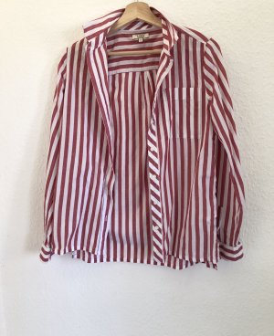 Aigle Camisa de manga larga rojo Algodón