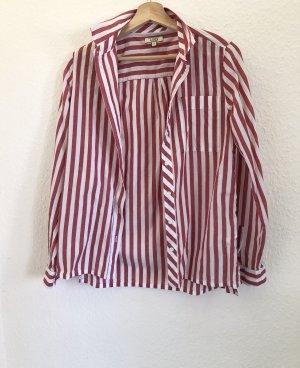 Aigle Long Sleeve Shirt red cotton