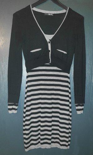 Liu jo Mini Dress black-grey