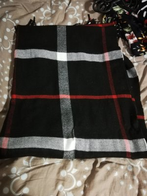 Écharpe d'été noir
