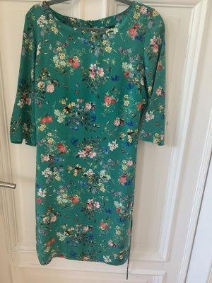 Sehr süßes Kleid von Zero, grün mit Blümchen, Gr. 34, NEU!