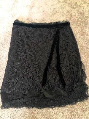 Dolce & Gabbana Kanten rok zwart