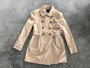 H&M Heavy Pea Coat beige