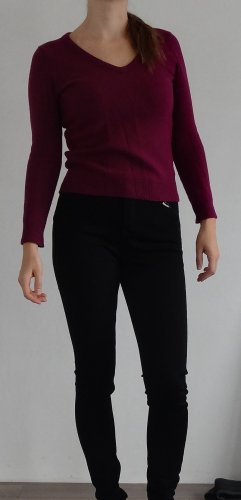 3 Suisses Maglione di lana magenta-viola