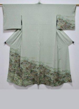 Kimono multicolored silk