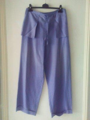 Marlene Trousers purple silk