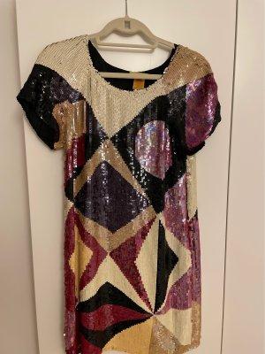 Catherine Malandrino Sequin Dress multicolored