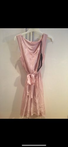 Seide silk kleid rosa neu xs/s HALBER PREIS