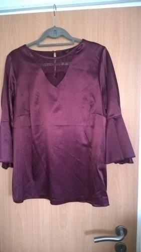 Brian Rennie Silk Blouse purple silk