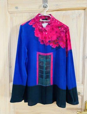 Akris Zijden blouse veelkleurig Zijde