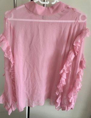 Miss Sixty Silk Blouse pink silk
