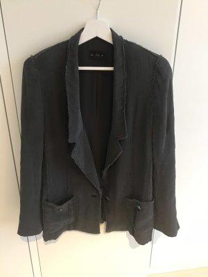 Club Monaco Boyfriend Blazer anthracite silk