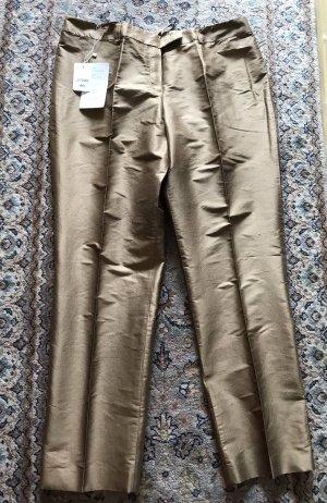 ae elegance Spodnie 7/8 Wielokolorowy Jedwab