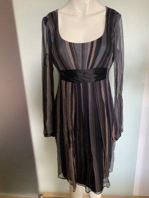 VM  vera mont Empire Dress multicolored silk