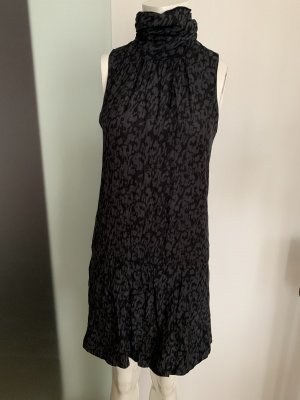 Seiden Kleid Gr 36 38 S von Reserved  Leoparden Look