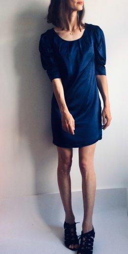 Kinga Mathe Sukienka z krótkim rękawem ciemnoniebieski