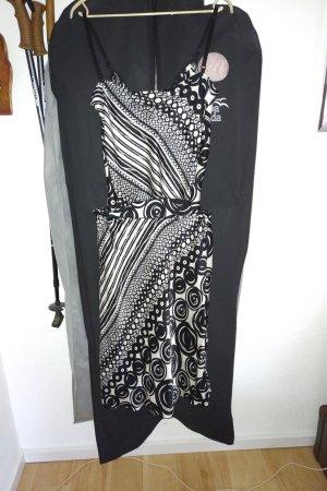 Versace 19.69 Tailleur blanc-noir soie