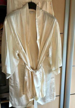 ae elegance Pyjama natural white-cream silk