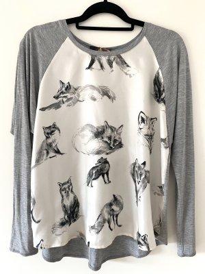 Seiden Pullover Fuchs