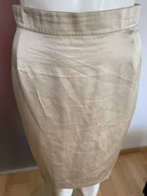 Otto Kern Silk Skirt gold-colored