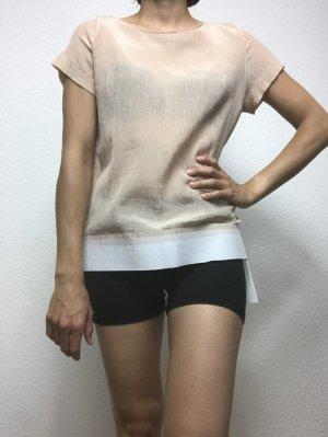 Seiden Shirt transparent von COS
