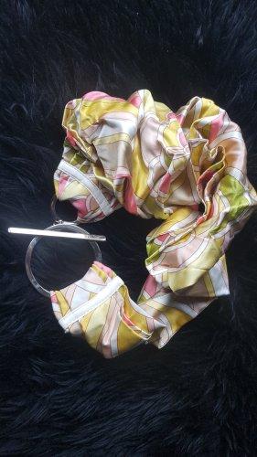Schumacher Ceinture de hanches multicolore soie