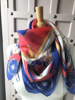 Foulard en soie multicolore