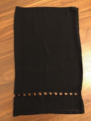 Maryan Mehlhorn Jupe portefeuille noir