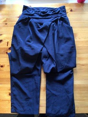 Anna Field Pantalone bloomers blu scuro