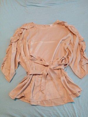H&M Silk Blouse pink