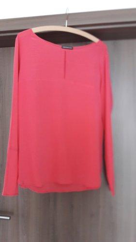 Drykorn Jedwabna bluzka różowy neonowy Jedwab