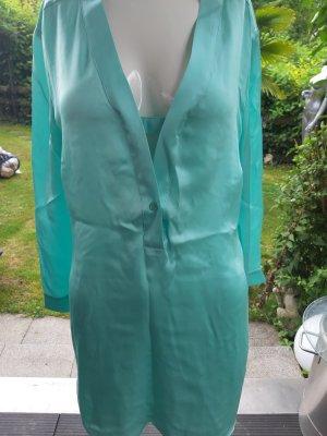 Peter Hahn Silk Blouse turquoise