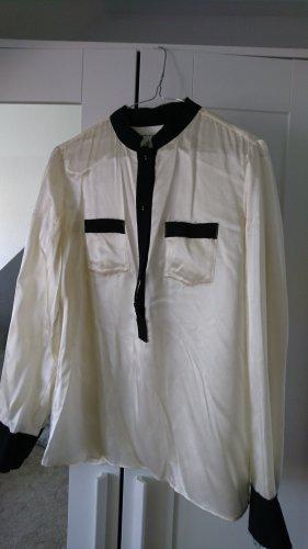 Banana Republic Zijden blouse veelkleurig