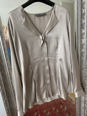 FFC Silk Blouse grey brown