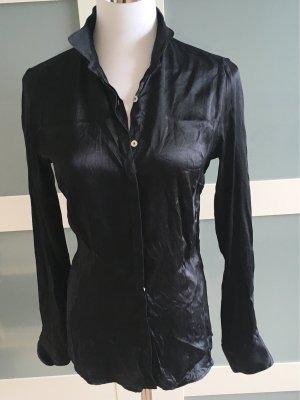 Silk Blouse black spandex