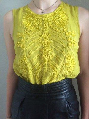 Matthew Williamson for H&M Sleeveless Blouse multicolored silk