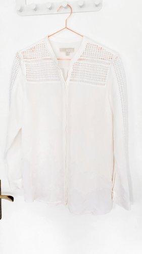 Michael Kors Blouse en soie blanc-blanc cassé soie