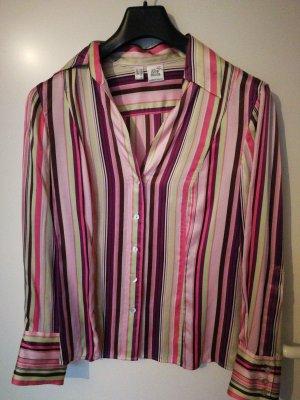 Alba Moda Blusa in seta multicolore