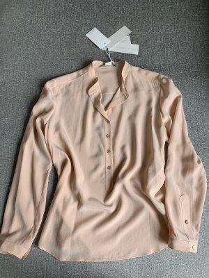 Stella McCartney Silk Blouse pink silk