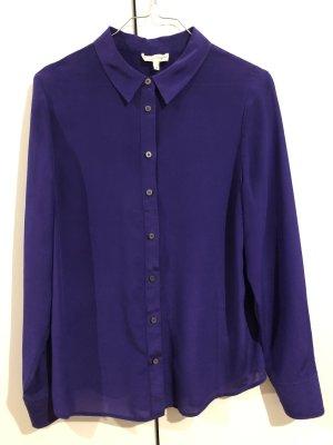 Phase eight Blusa de seda violeta oscuro