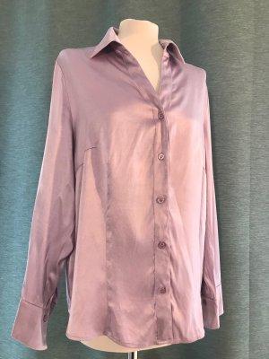 Basler Zijden blouse mauve Zijde
