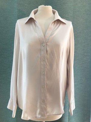 Basler Zijden blouse wolwit Zijde