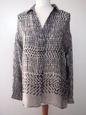 Caliban Long Sleeve Blouse multicolored silk