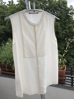 Comptoir des Cotonniers Silk Blouse natural white