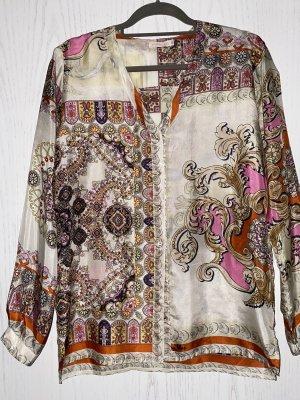 Johnny Was Zijden blouse veelkleurig Zijde