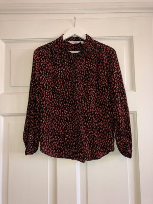 & other stories Silk Blouse black-carmine